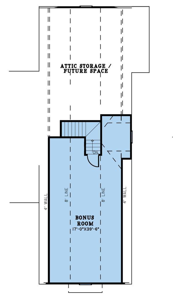Dream House Plan - Farmhouse Floor Plan - Upper Floor Plan #923-197