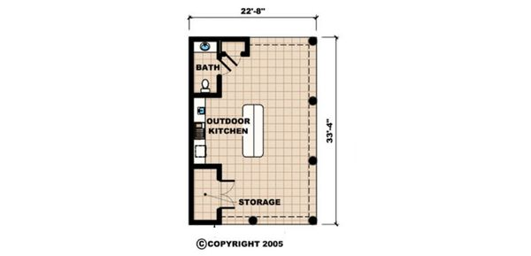 Southern Floor Plan - Other Floor Plan #27-534