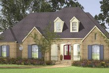 House Plan Design - Country Exterior - Front Elevation Plan #406-9628