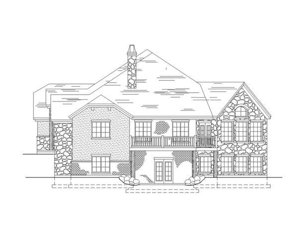 Country Floor Plan - Other Floor Plan Plan #945-32