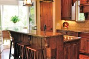 Craftsman Style House Plan - 4 Beds 3.5 Baths 3807 Sq/Ft Plan #437-69 Interior - Kitchen
