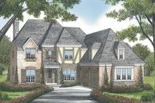 Home Plan - European Exterior - Front Elevation Plan #453-569