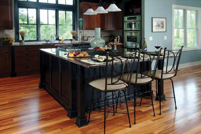 Craftsman Interior - Kitchen Plan #928-18 - Houseplans.com