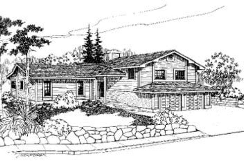 Bungalow Exterior - Front Elevation Plan #60-333