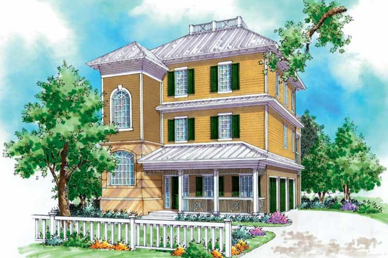 Country Exterior - Front Elevation Plan #930-168 - Houseplans.com