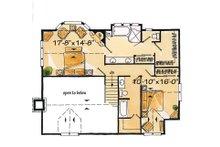 Log Floor Plan - Upper Floor Plan Plan #942-18