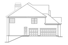 House Design - Classical Exterior - Other Elevation Plan #927-605