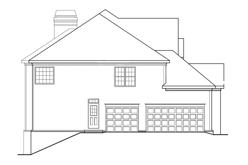 Classical Exterior - Other Elevation Plan #927-605 - Houseplans.com