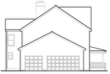 House Plan Design - Colonial Exterior - Other Elevation Plan #1053-69