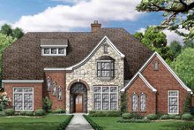 House Plan Design - European Exterior - Front Elevation Plan #84-709