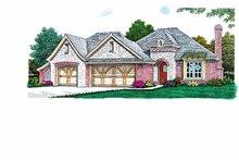 House Design - European Exterior - Front Elevation Plan #310-1237
