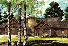House Design - Ranch Exterior - Front Elevation Plan #942-35