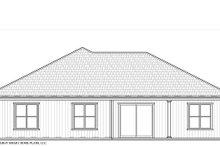Architectural House Design - Craftsman Exterior - Rear Elevation Plan #938-95