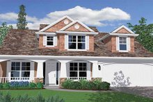 Traditional Exterior - Front Elevation Plan #509-304