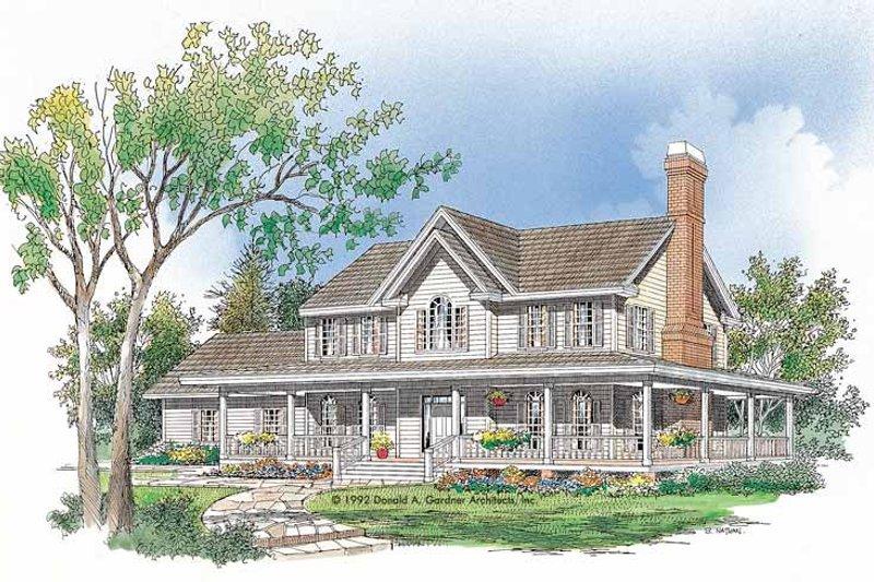 House Plan Design - Victorian Exterior - Front Elevation Plan #929-116