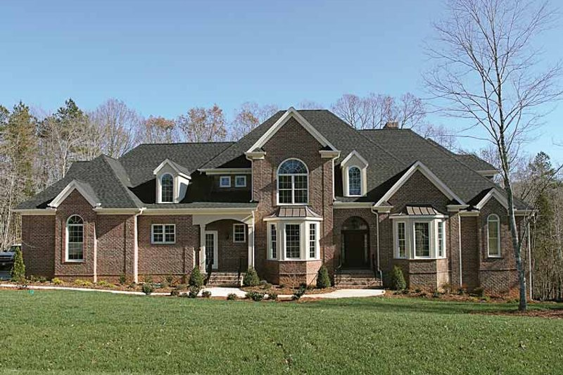 Home Plan - Country Exterior - Front Elevation Plan #453-182