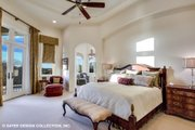European Style House Plan - 4 Beds 5.5 Baths 6594 Sq/Ft Plan #930-516 Interior - Master Bedroom