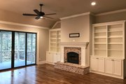 Craftsman Style House Plan - 4 Beds 2.5 Baths 2834 Sq/Ft Plan #437-87 Interior - Family Room
