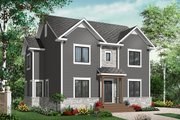 Colonial Style House Plan - 4 Beds 2.5 Baths 2147 Sq/Ft Plan #23-2284 Exterior - Front Elevation