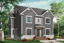 Dream House Plan - Colonial Exterior - Front Elevation Plan #23-2284