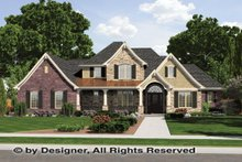 Country Exterior - Front Elevation Plan #46-834