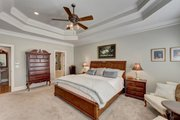 Traditional Style House Plan - 4 Beds 3.5 Baths 2943 Sq/Ft Plan #437-118 Interior - Master Bedroom