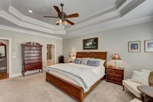 Dream House Plan - Traditional Interior - Master Bedroom Plan #437-118