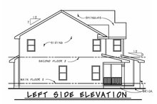 Dream House Plan - Traditional Exterior - Other Elevation Plan #20-2196