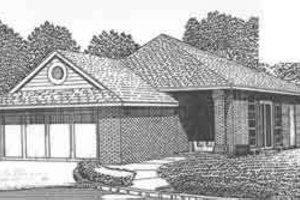 Traditional Exterior - Front Elevation Plan #310-477