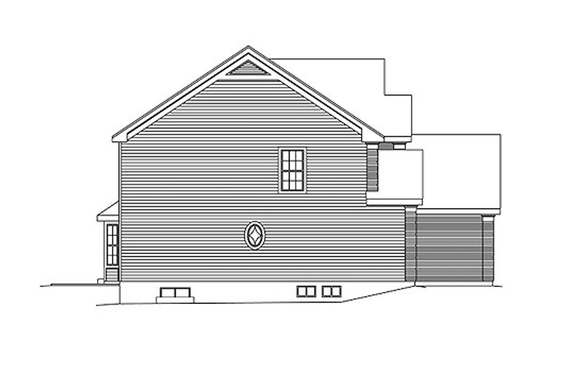 Colonial Exterior - Other Elevation Plan #57-274 - Houseplans.com