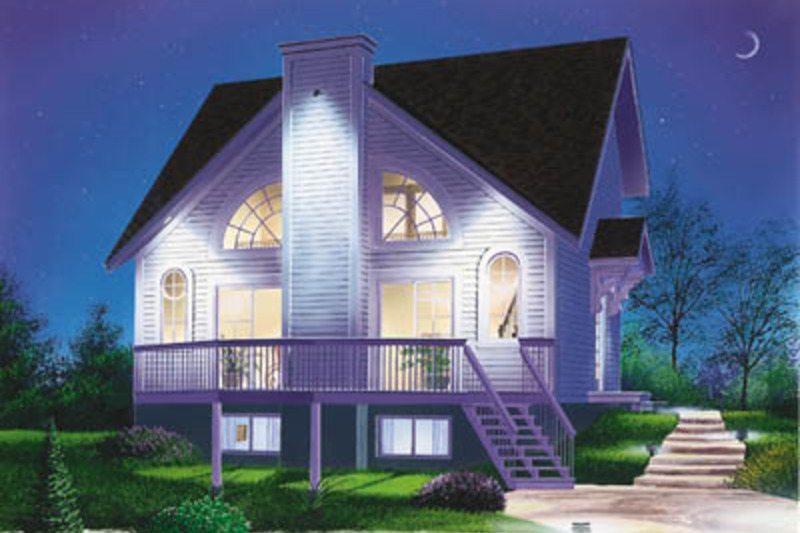 Modern Exterior - Front Elevation Plan #23-2029 - Houseplans.com
