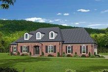 House Plan Design - European Exterior - Front Elevation Plan #932-28
