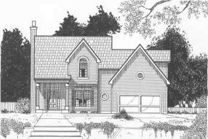 Traditional Exterior - Front Elevation Plan #6-145