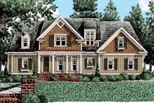 Country Exterior - Front Elevation Plan #927-434