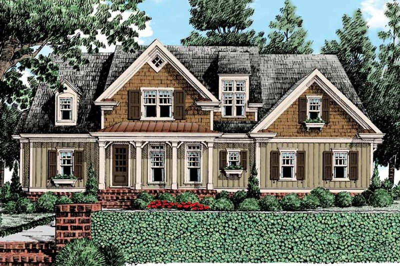 Country Exterior - Front Elevation Plan #927-434 - Houseplans.com