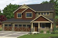 Craftsman Exterior - Front Elevation Plan #943-29
