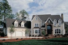 House Plan Design - Country Exterior - Front Elevation Plan #453-250