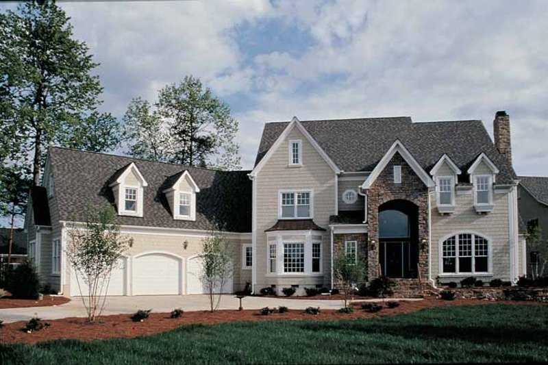 Country Exterior - Front Elevation Plan #453-250 - Houseplans.com