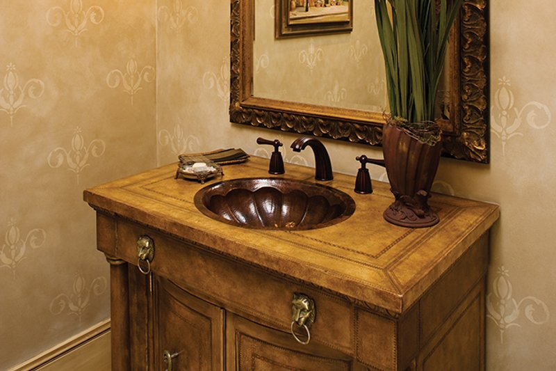 European Interior - Bathroom Plan #929-894 - Houseplans.com