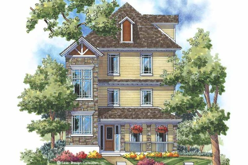 Home Plan - Craftsman Exterior - Front Elevation Plan #930-169