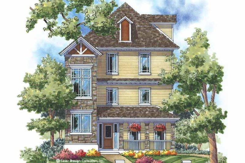 Architectural House Design - Craftsman Exterior - Front Elevation Plan #930-169