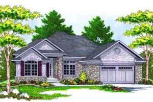 Traditional Exterior - Front Elevation Plan #70-659