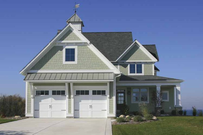 Craftsman Exterior - Front Elevation Plan #928-75 - Houseplans.com
