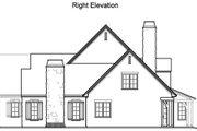 Traditional Style House Plan - 5 Beds 4.5 Baths 4921 Sq/Ft Plan #490-21 Exterior - Other Elevation