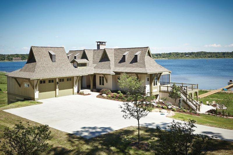 Home Plan - Craftsman Exterior - Front Elevation Plan #928-252