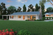 Dream House Plan - Ranch Exterior - Other Elevation Plan #888-5