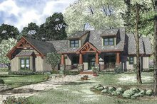 Home Plan - Craftsman Exterior - Front Elevation Plan #17-3314
