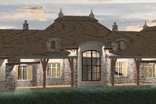 Home Plan - Country Exterior - Rear Elevation Plan #937-26