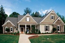 House Plan Design - Country Exterior - Front Elevation Plan #927-169