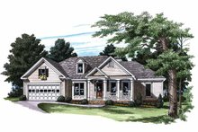 House Plan Design - Country Exterior - Front Elevation Plan #927-181